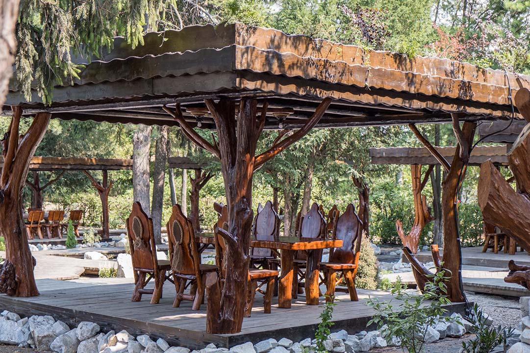 Sascut Bacau Amenajare Gradina De Vara Proiect Landscaping Mobilier Si Amenajari Rustice Gardenland Ro